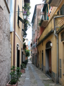 Alley in Portofino